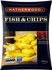 Treska v těstíčku Fish&Chips mražená Hatherwood
