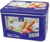 Trubičky plněné zmrzlinou Metro Chef