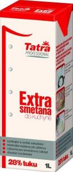 Trvanlivá smetana Extra Tatra 28%