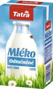 Trvanlivé mléko Tatra - 0,5% odstředěné
