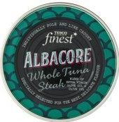 Tuňák steak v olivovém oleji Albacore Finest Tesco