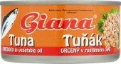 Tuňák drcený v oleji Giana