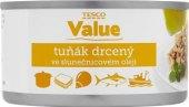 Tuňák drcený v oleji Tesco Value