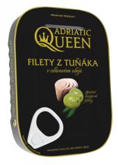 Tuňák filety v oleji Adriatic Queen