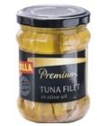 Tuňák filety v oleji Premium Billa