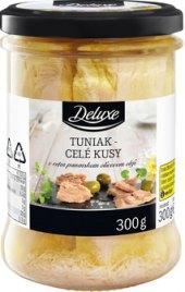 Tuňák filety v olivovém oleji Deluxe