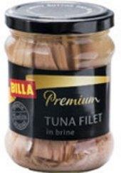 Tuňák filety ve vlastní šťávě Premium Billa