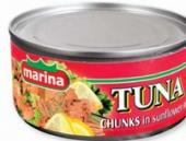 Tuňák kousky Marina