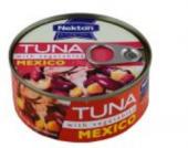 Tuňák kousky se zeleninou Mexico Nekton