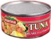 Tuňák kousky v oleji Marina