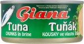 Tuňák kousky ve vlastní šťávě Giana