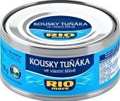 Tuňák kousky ve vlastní šťávě Rio Mare