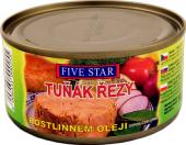Tuňák řezy v oleji Five Star