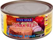 Tuňák řezy ve vlastní šťávě Five Star