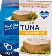 Tuňák steak v oleji Sun&Sea
