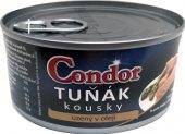 Tuňák uzený kousky v oleji Condor
