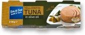 Tuňák žlutoploutvý kousky v oleji Sun&Sea