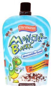 Tvarohová kapsička Monster Backe Ehrmann