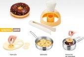 Tvořítko na donuty s namáčecími kleštěmi Delícia Tescoma