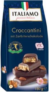 Tyčinky čokoládové Croccantini Italiamo