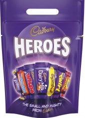 Tyčinky čokoládové Heroes Cadbury