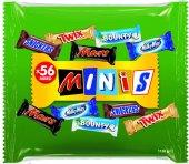 Tyčinky čokoládové Mix Minis Mars