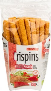 Tyčinky Crispins bez lepku bio Extrudo