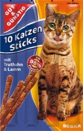 Pamlsky pro kočky tyčinky Gut&Günstig  Edeka