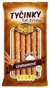 Tyčinky sýrové grahamové Seli