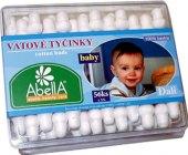 Tyčinky vatové Baby Abella