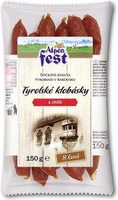 Tyrolské klobásky s chilli Alpen Fest