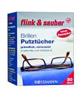 Čisticí vlhčené ubrousky na brýle Flink&Sauber