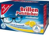 Čisticí vlhčené ubrousky na brýle Gut&Günstig  Edeka