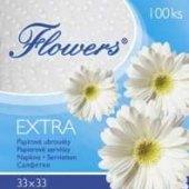 Ubrousky papírové Flowers Chopa