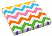 Ubrousky papírové 3vrstvé barevné