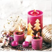 Ubrousky papírové 3vrstvé vánoční Ditipo