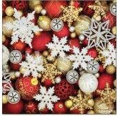 Ubrousky papírové Vánoční Fasana