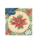 Ubrousky papírové vánoční Forest