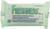 Vlhčené ubrousky Freshness
