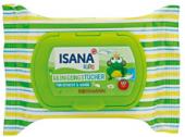 Ubrousky vlhčené Kids Isana