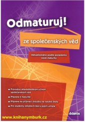 Učebnice Odmaturuj ze společenských věd Jan Dvořák
