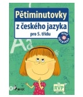 Učebnice Pětiminutovky z českého jazyka pro 5. třídu