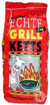 Uhlí dřevěné grilovací Echte Grill Ketts