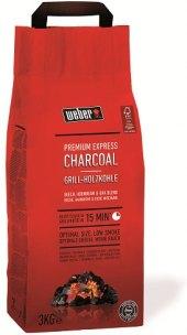 Uhlí dřevěné Premium Express Weber