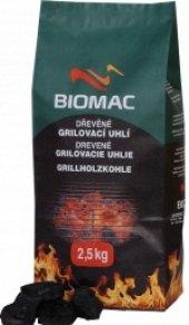 Uhlí grilovací dřevěné Biomac