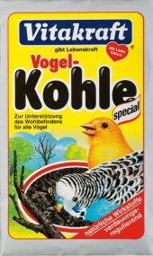 Uhlí pro exotické ptactvo Kohle Vitakraft