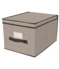 Úložný textilní box s víkem