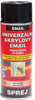 Univerzální akrylový email ve spreji  Barvy a laky Hostivař