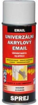 Univerzální akrylový email ve spreji lesk Barvy a laky Hostivař