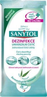 Univerzální dezinfekční ubrousky Sanytol